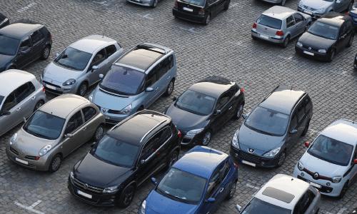 odo-sobre-el-sensor-de-aparcamiento